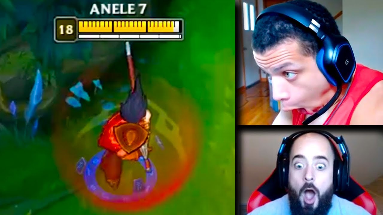 Tyler1 Reacts to League of Legends Battle Royale | Yassuo Destroys His Mouse | LoL Funny Moments