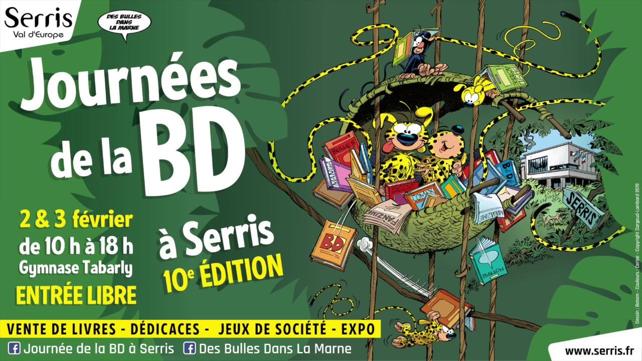 Journée de la BD à Serris - 10e édition - 2019
