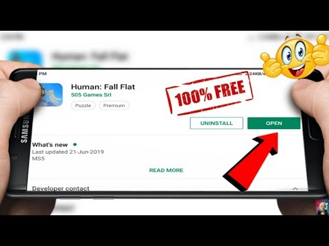 How To Download And Play Human Fall Flat 505 Games Srl Game Free For Android in 427 MB Download Now - 동영상