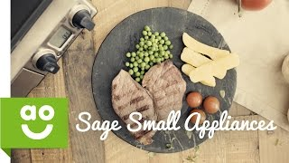Sage By Heston Blumenthal Die Smart Grill Pro BGR840BSS Gesundheit Grill | ao.com