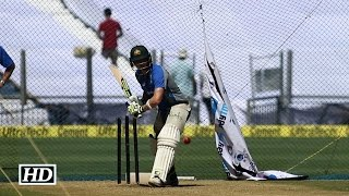 Steve Smith practice playing spin