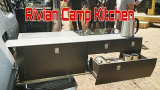 Hands-on tour of the Rivian Camp Kitchen | Technology Upgrade