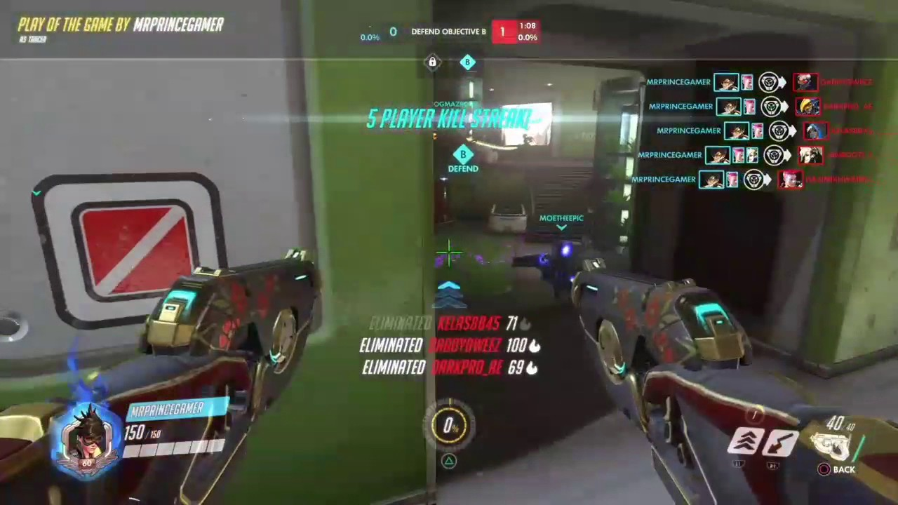 My first POTG on lunar colony