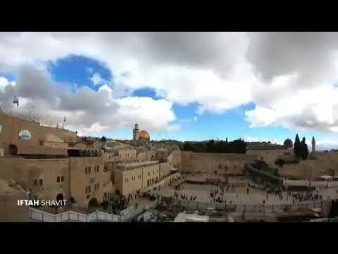 Jewish Jerusalem har habit and the western wall Jerusalem