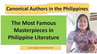 Famous Authors From Philippines