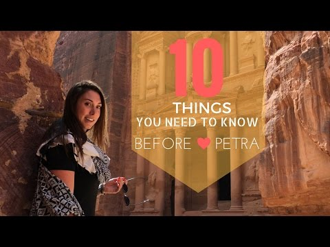 10 THINGS TO KNOW BEFORE VISITING PETRA | JORDAN