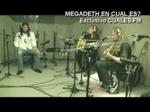 Megadeth - Unplugged Buenos Aires  2010