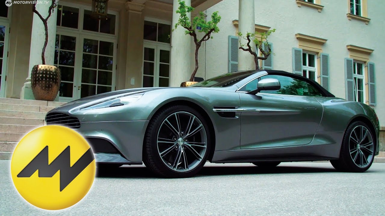 Eine Meisterliche Kombination Aus Kunst Und Technologie Aston Martin Vanquish Volante Youtube