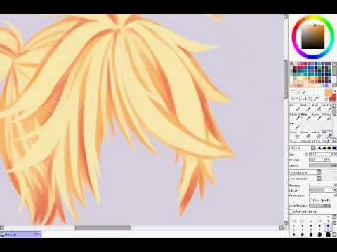 Hair colouring tutorial - YouTube