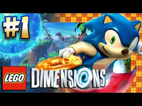 lego dimensions ps4 pro sonic level pack part 1 green. Black Bedroom Furniture Sets. Home Design Ideas