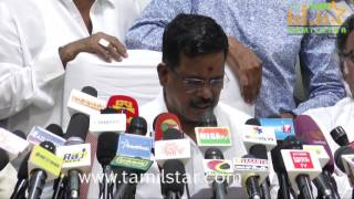 Tamil Film Industry Press Meet On Cauvery Issue