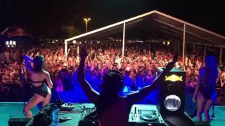 DJ FLOWER aka Virag Voksan @ LAKE UP! Festival, Komarno (SK) part1