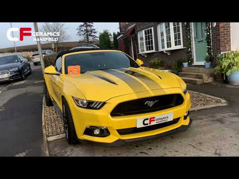2017 Ford Mustang GT ceramic coated by CFC Wakefield
