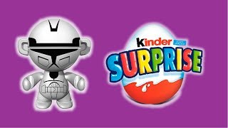 3x EGGS Kinder Surprise Set Teenage Mutant Ninja Turtles