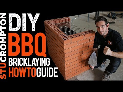 Brick BBQ Step by Step Tutorial