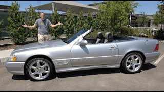homepage tile video photo for The 2002 Mercedes-Benz SL500 Is the Last Old-School Mercedes