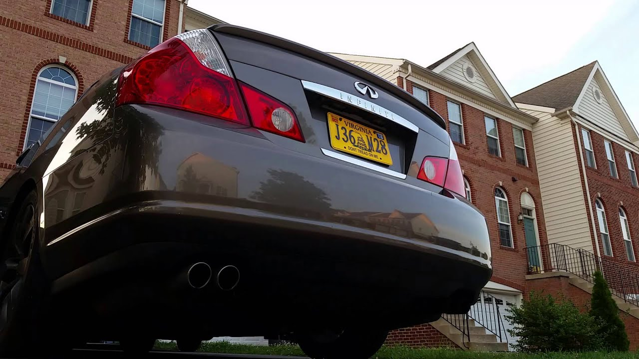 Infiniti M35 startup and exhaust | FunnyCat TV