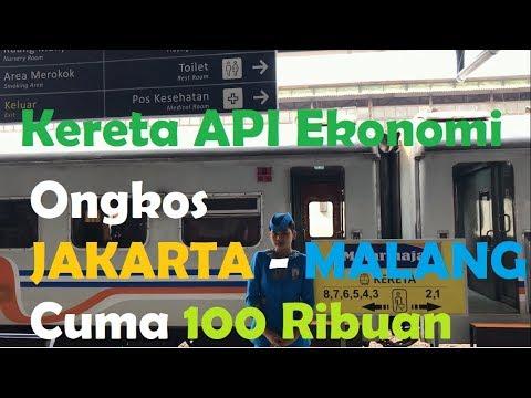 Kereta API 🚞 🚃 Ekonomi Matarmaja (Jakarta - Malang)
