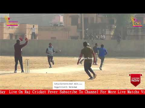 6th  Day Live From Rajgarh New Year Cricket Tournament Match Rajgarh Rock VS Sofian club 2nd Round thumbnail