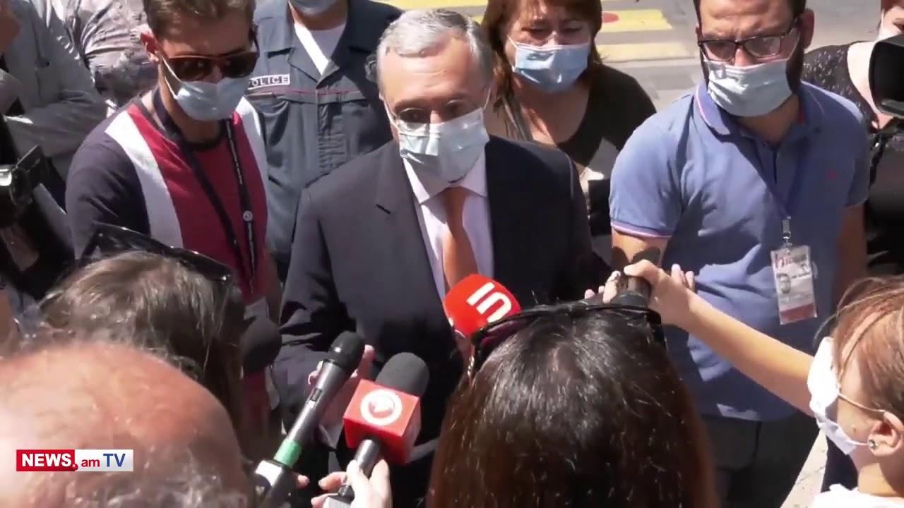 Տեսանյութ.Ճշտեք, հետո իմ վրա գոռացեք. Ես հստակ տեղյակ չեմ, թե ինչ քաղաքականություն է հիմա վարում ՌԴ-ն.Զոհրաբ Մնացականյանի և ցուցարարների վեճը