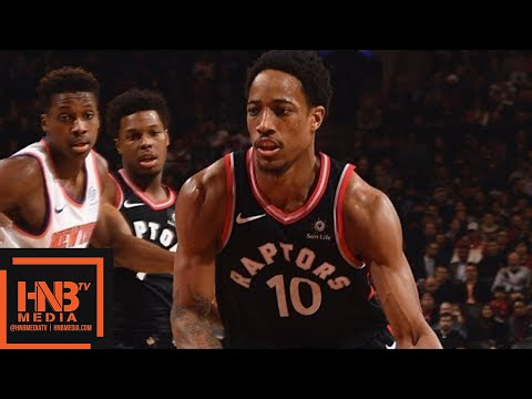 Toronto Raptors vs New York Knicks Full Game Highlights / Feb 8 / 2017-18 NBA Season