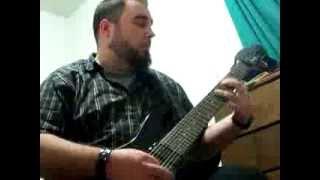 "Mnemic - ""Climbing Towards Stars"" (guitar cover)"