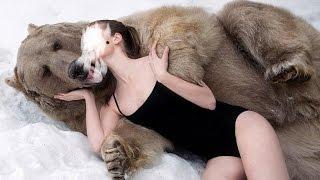 Что делать если встретились с медведем(Медведь (Бурый медведь) населяет весь Урал, северный, полярный и приполярный. Бурый медведь - это самый крупн..., 2015-11-05T15:25:50.000Z)