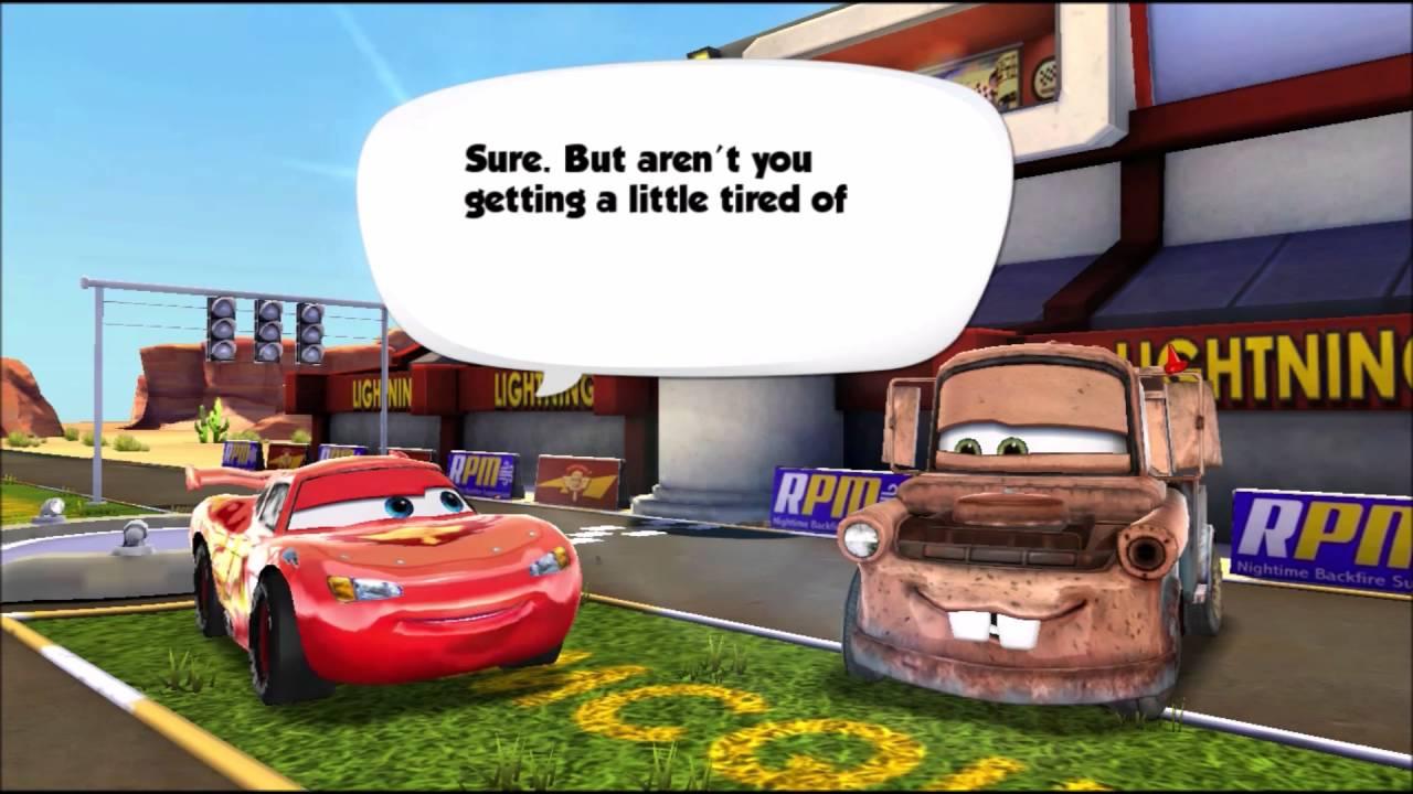 Disney Pixar Cars Fast As Lightning Online Game Youtube