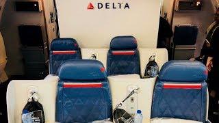 Flight Report DUB-JFK Delta Business Class 767-400 Delta One (Dublin to New York)