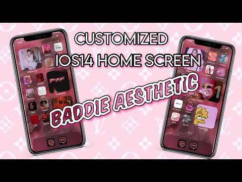 customize-iphone-home-screen-with-ios14-|-*baddie-aesthetic!!!*