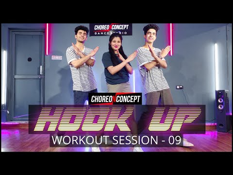 Hook Up Song | SOTY 2 | Online Bollywood Workout | Choreo N Concept Dance Studio | Gurgaon Sector 45