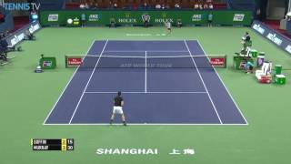 Murray Blankets The Court In Shanghai 2016