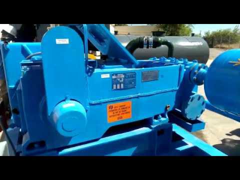 J-200 MCA Triplex Alternative Plunger Pump / SIAM-ARCON