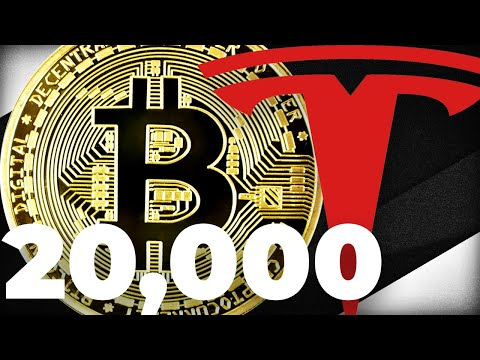 Elon Musk's Tesla Stock = $20,000 Bitcoin Price: What It Would Take