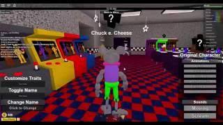 Why am I Chuck E. Cheese?!?! | Roblox #6