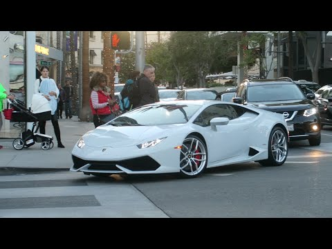 SHOUT OUTS + CAR SPOTTING IN BEVERLY HILLS !!