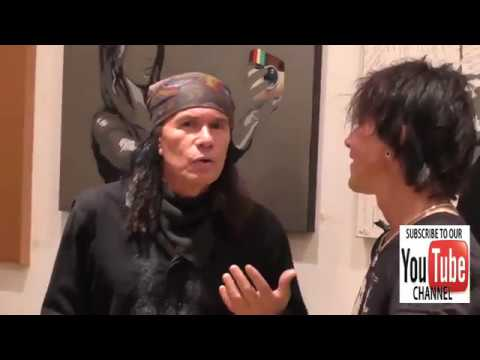 Billy Morrison and Native Wayne Jobson at the Gallery Opening Of Social Distortion A Capsule Collect