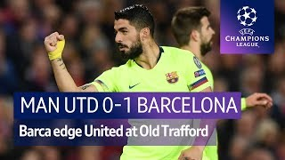 Manchester United vs Barcelona (0-1) | UEFA Champions League Highlights