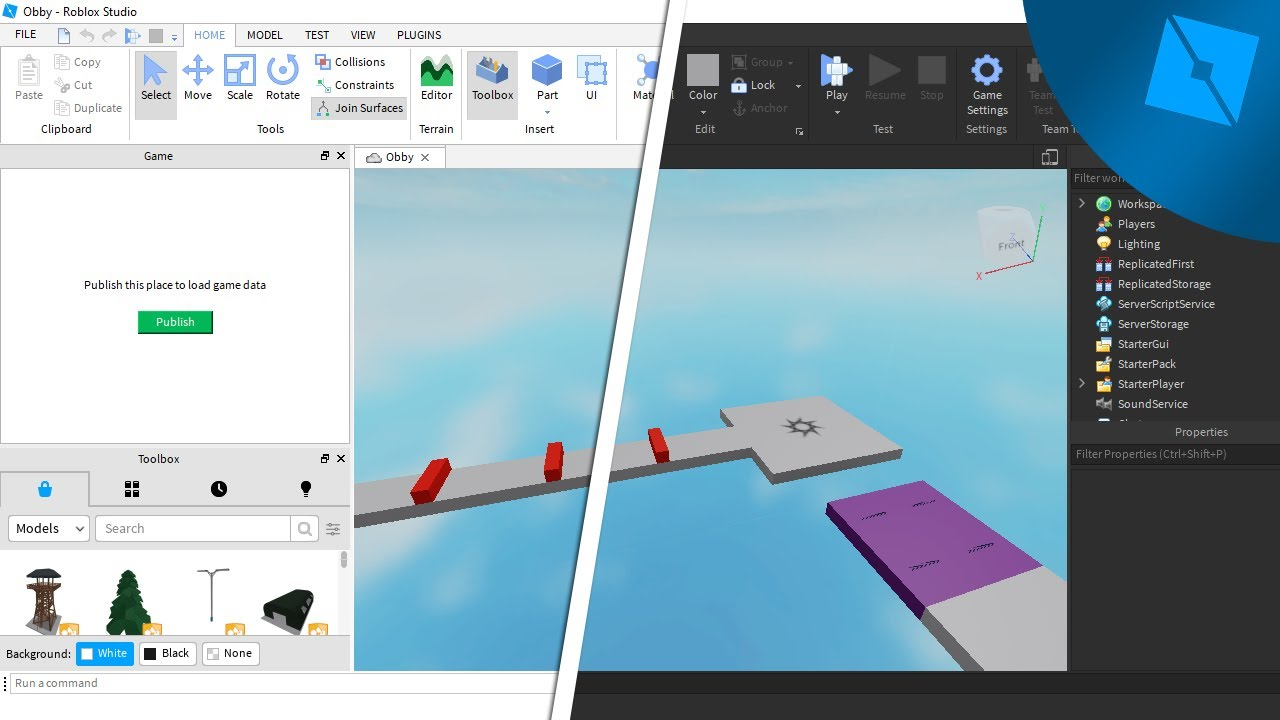 Roblox Develop View 13 How To Upload Decal Images Into Rblx Studio Rblx Studio For Beginners Youtube