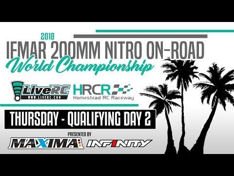 2018 IFMAR 200mm IC Worlds (Nitro Sedan) - Upper Mains Day