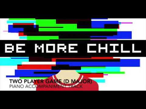 Two Player Game (D Major) - Be More Chill - Piano Accompaniment/Karaoke Track
