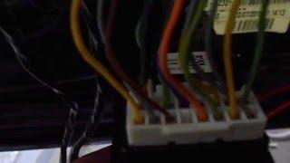 Установка доводчика стекол на KIA CEED в штатную сигнализацию