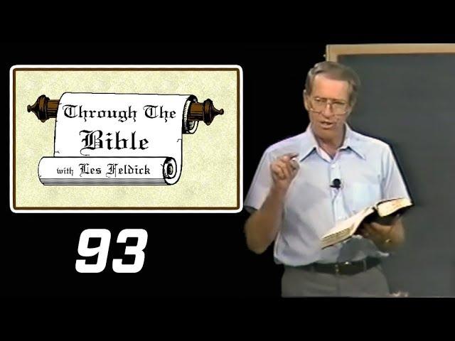 [ 93 ] Les Feldick [ Book 8 - Lesson 3 - Part 1 ] The Ten Commandments and the Tabernacle: Ex 20-36