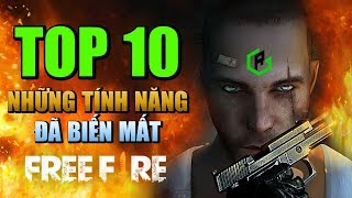 Free Fire | TOP 10 tính năng đã biến mất hoàn toàn trong Free Fire | Rikaki Gaming