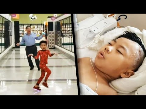 Ashley - A Grandpa Dances with His Grandson to Cheer Him Up Before Brain Surgery