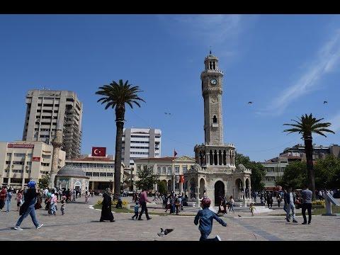 Konak Meydanı ve Tarihi Saat Kulesi - İzmir