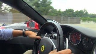 Ferrari F430 vs Audi R8 - Street Racing, Tunnel Blast and more!