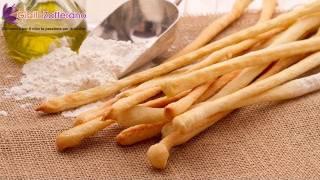 Breadsticks ( Grissini ) - Italian Recipe