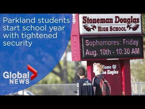 Stoneman Douglas students return to class 6 months after shooting