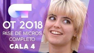 PRIMER PASE DE MICROS (13 OCT) | Gala 4 | OT 2018